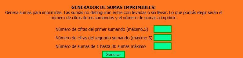 Generadores de cuestionarios y ejercicios   C.P. RURAL ALTO ALMANZORA